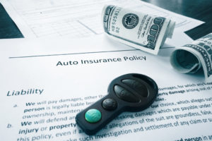 cash and auto insurance policy
